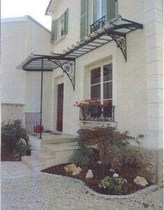La Forge  de La Maison Dieu - vaiss - Eingangsvordach