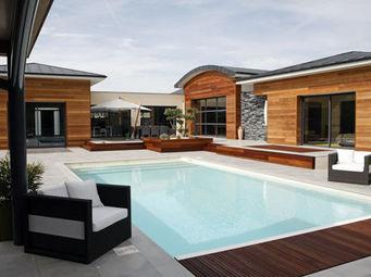 CARON PISCINES - classique - Traditioneller Swimmingpool