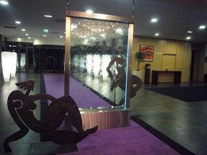 AQUALIA - verre transparent - Wasserwand