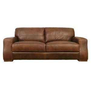 Abode Direct - sorrento leather 2.5 seater sofa - Clubsofa