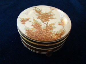 ANTIQUE AND NATURAL CURIOSITIES DI VIRTUDAZO MARIA THERESA - boîte satsuma - Bento Box