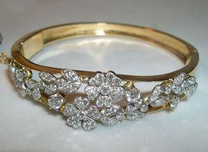 Fabian de MONTJOYE - bracelet en brillants - Armband