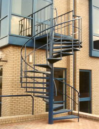 Albion Design Of Cambridge - public range - Wendeltreppe