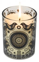 WILD AND WOLF - forest flowers scented candle - Kerze
