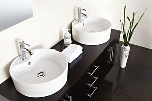 MEUBLEZ.COM -  - Doppelwaschtisch Möbel