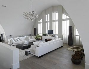 Jasno Shutters - porte persienne cintrée - Klapp Lamellenfensterläden