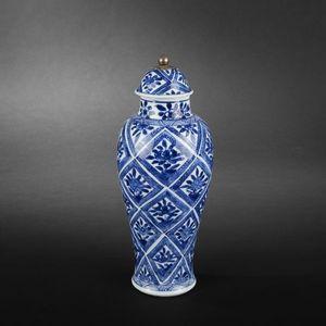 Expertissim - petite potiche. chine, époque kangxi - Vase Mit Deckel