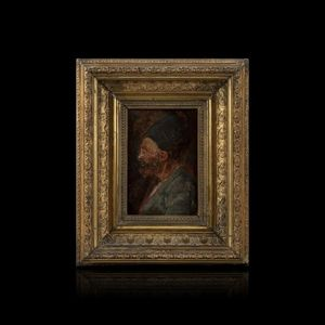 Expertissim - ecole du xixe siecle. portrait d'homme barbu - Porträt