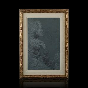 Expertissim - ecole française du xviiie siècle. projet d'orneme - Kunstdruck