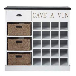Maisons du monde - cave à vin comptoir des épices - Theke Flaschen Aufräumer