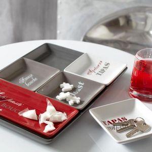 Maisons du monde - plateau apéro 5 compartiments gourmet - Aperitif Schale