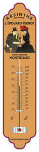 Cartexpo - absinthe pernot - Thermometer