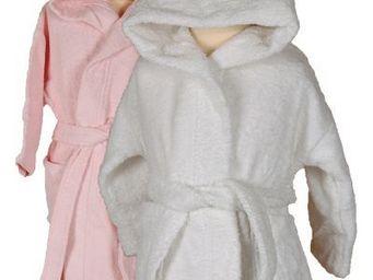 SIRETEX - SENSEI - peignoir enfant en forme de souris rose - Kinderbademantel