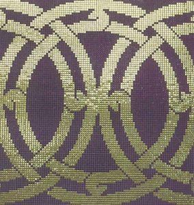 Emaux de Briare - micro-mosaïques - Wand Fliesenmosaik