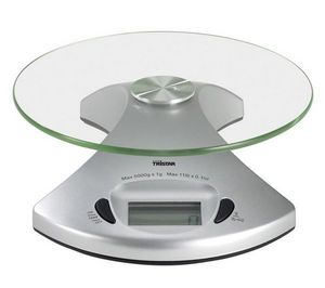 Tristar - balance de cuisine kw-2431 - argent - Elektronische Küchenwaage