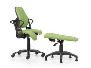 Design + - repose jambe db112 - Ergonomischer Stuhl