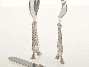 LAURET STUDIO - couteau, fourchette, cuillère enfant - Kinderbesteck