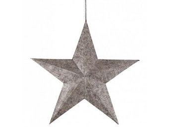 BLANC D'IVOIRE - etoile gm - Dekorativer Stern