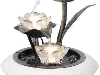 ZEN LIGHT - fontaine d'intérieur irida avec éclairage 25x25x2 - Zimmerbrunnen