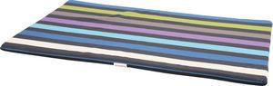 ZOLUX - tapis mousse déhoussable feria bleu 122x82x3cm - Hundebett