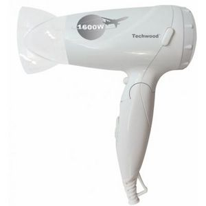 TECHWOOD - sèche-cheveux pliable - Haarfön
