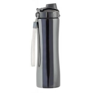 INVOTIS - bouteille isotherme sport noir - Thermosflasche