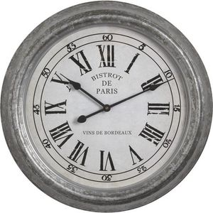 Aubry-Gaspard - horloge bistrot de paris - Wanduhr