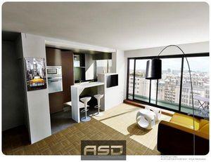 ASDesign ( ASD ) -  - Innenarchitektenprojekt Wohnzimmer