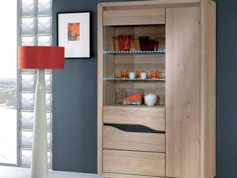 Ateliers De Langres - ceram - vitrine 1 porte - Vitrinen Schrank