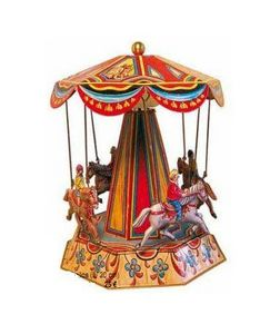 Au Nain Bleu - chevaux - Musical Karussell