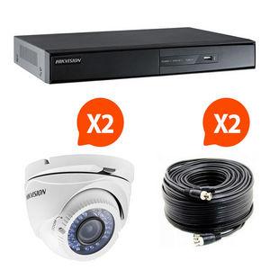 HIKVISION - videosurveillance pack 2 caméras kit 3 hik vision - Sicherheits Kamera