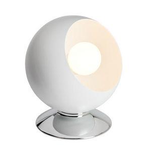 Brilliant - magali - lampe à poser blanc h17,5cm | lampe à pos - Tischlampen