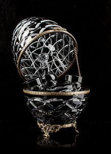 TSAR IMPERIAL - noir caviar & vodka presentoir -