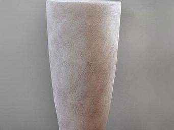 TERRES D'ALBINE - vase haut - Große Vase