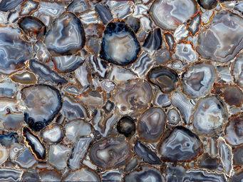 BARMAT -  - Bodenplatte Mit Steinen Auf Netz