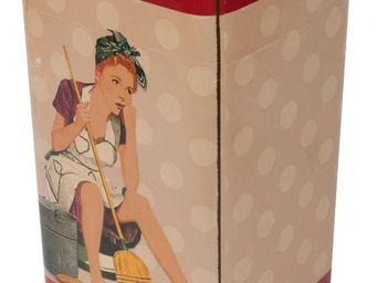 Antic Line Creations - poubelle de cuisine vintage - Küchenabfalleimer