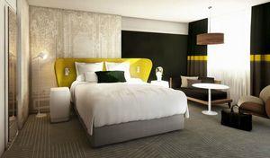 Agence Nuel / Ocre Bleu - hôtel strsbourg - Ideen: Hotelzimmer