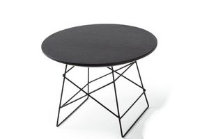 INNOVATION - grid tables basse design taille m par innovation l - Runder Couchtisch