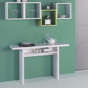 WHITE LABEL - console extensible fiona blanche - Erweiterbare Konsole