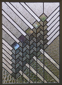 IRISATIONS - Design Ysania - prairie grand - Buntglasfenster