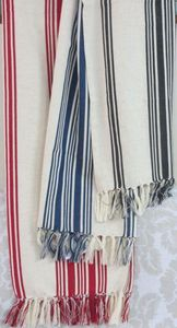 ITI  - Indian Textile Innovation - stripe designs - Bettüberwurf