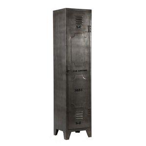 WHITE LABEL - armoire ferro en acier - Regalsäule