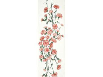 Art De Lys - oillets fond blanc - Tischläufer