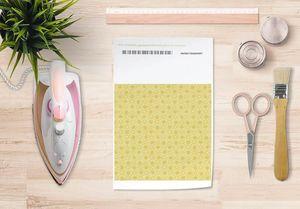 la Magie dans l'Image - papier transfert trèfle jaune foncé - Verlegung