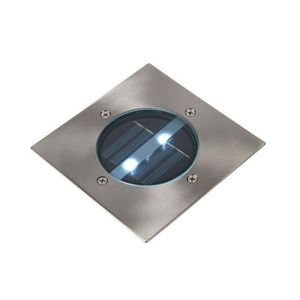 LUCIDE - spot extérieur encastrable carré solar led ip44 - Einbau Bodenspot