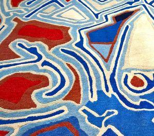 Bausol - tapis d'artiste- - Moderner Teppich