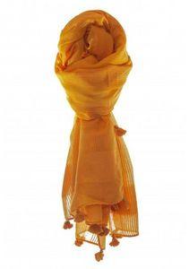 Mia Zia - bianca orange - Schal