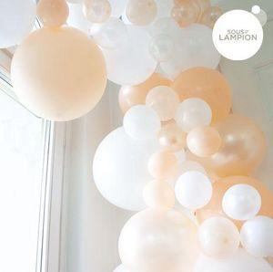 SOUS LE LAMPION - peach - Aufblasbarer Ball