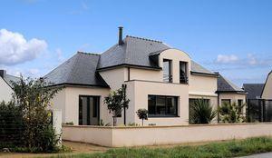 Haus mit Dachboden