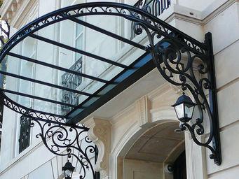 Dunod-Mallier -  - Eingangsvordach
